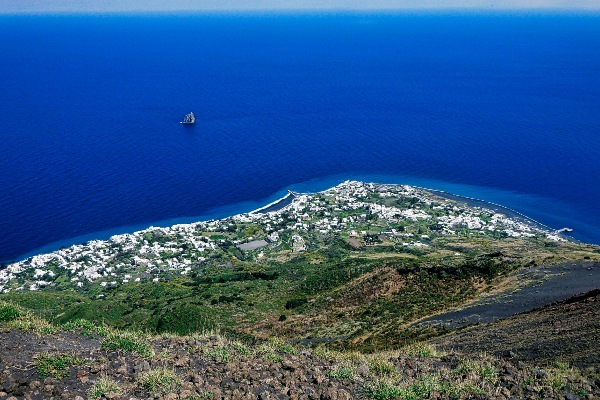 View from Stromboli