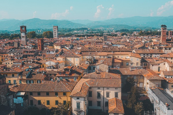 Lucca Townscape